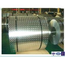 Противоскользящая алюминиевая контрольная пластина для катушек