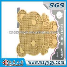 ECO-Bär Form weich PVC/Soft Rubber Coaster