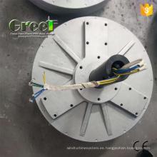 2KW generador de disco sin núcleo para uso de generador de energía eólica