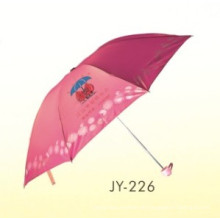 Manuelle Open Advertising 3 Fold Umbrella (JY-226)