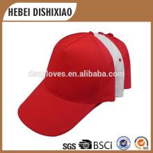 Atacado de boné de beisebol de algodão 6 chapéu chapéu de beisebol chapéu com logotipo tampa fábrica