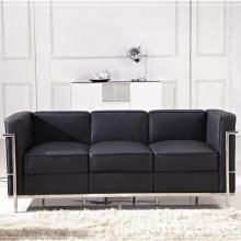 Современный классический офисный кожаный диван LC2