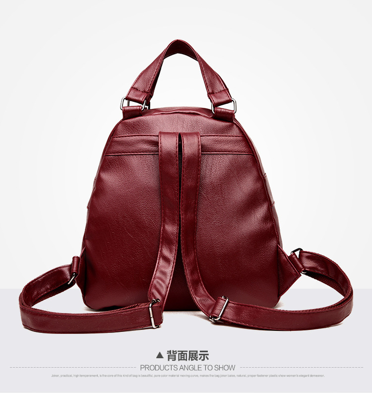 embroidery shoulder bags girls soft backpacks