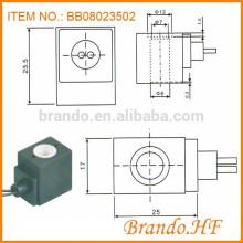 Pneumatic 4V Series Cable Connection Bobina de la electroválvula