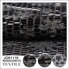 Fabriqué en Chine Pas cher Tissu confortable en polyester coupé au laser