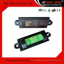 Alta qualidade magnética mini nível de bolha 59 * 19 * 13.5mm