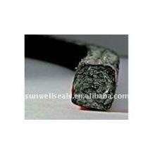 Embalagem de fibra cerâmica de preço mais baixo com impregnação de grafite