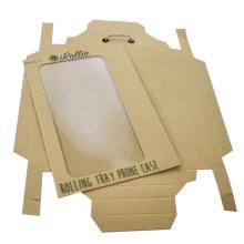 Diseño simple Custom Logo Drawer Gift Kraft Box