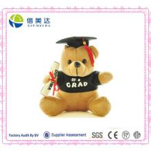 Regalo lindo del estudiante de la muñeca del doctor Bear de la felpa