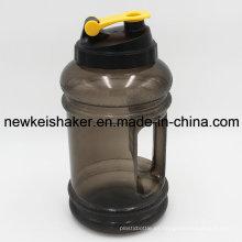 Gran jarra de agua 2.2L media botella de agua PETG deporte con mango