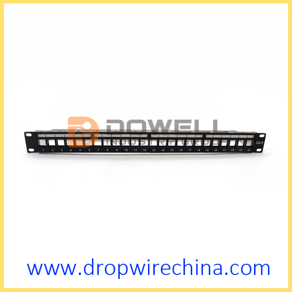 24 Port FTP-Patch-Panel unbelastetes Modul