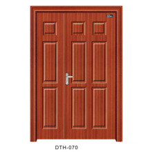 PVC Door Wooden Door Interior Door (DTH-070)