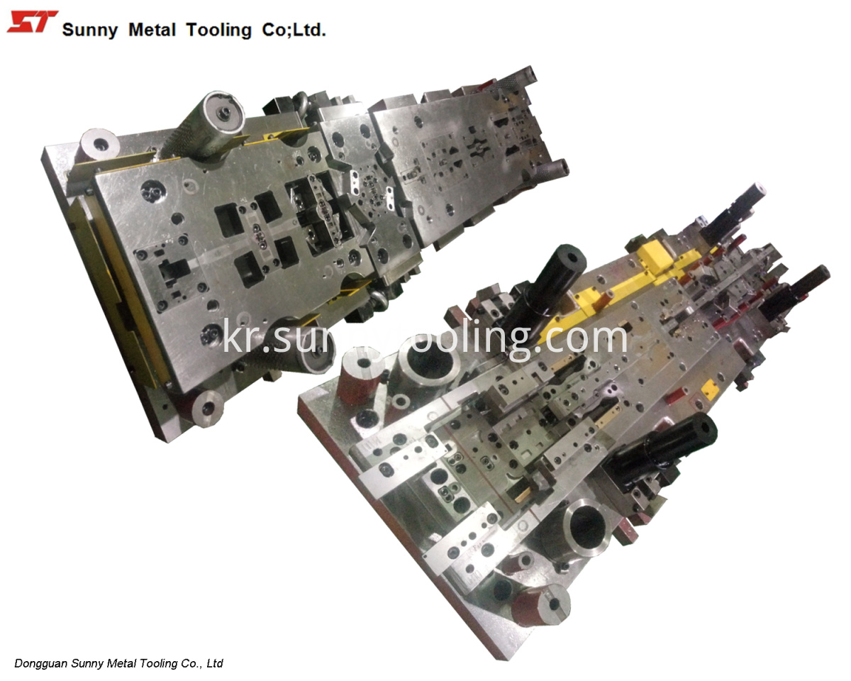 Automotive Stamping Part Punching Tooling Die Mould-CS015-sunnytool-20170802