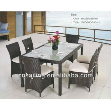 Rattan garden outdoor restaurant furniture