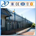 Cheap garrison fence welded picket iron fence