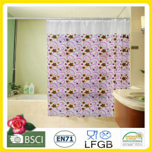 Plastic PVC/EVA Printed Shower Curtain Factory Wholesale