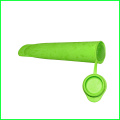 Atacado Silicone Ice Sticks Mold com Tampa