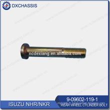 Véritable boulon de cylindre de roue arrière NHR NKR 9-09602-119-1