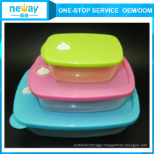 New Arrival Round Food Fresh-Keeping Plastic Food Container