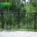 PVC+Green+coated+chain+link+fence+panel