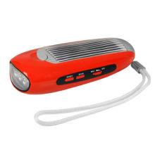 Solar Energy Flashlight, Sensitive FM Radio, Various Specifications Welcomed
