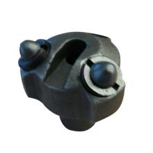 Perforadora de acero de baja aleación de encargo tres / seis / siete agujero de la fundición de precisión de vidrio soluble para la minería