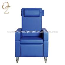 Tratamiento de la silla de la elevación del uso de la clínica de reposo Sofá de la parte posterior del sofá de la parte posterior del alto respaldo