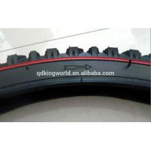 pneu de vélo 26x2.125 avec ligne rouge