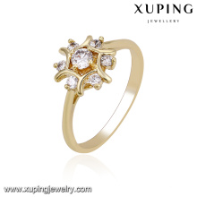 14219 xuping ring jewelry women gold rings design for women rings