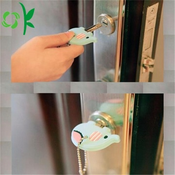 Cartoon Silicone Key Cover Leuke Animal Key Holder