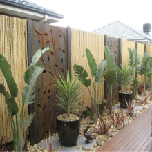 Corten Rusted Steel Decorative Garden Screens
