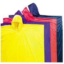 Yj-6058 Reusable Yellow Raincoat Poncho for Rain Clothes for Work