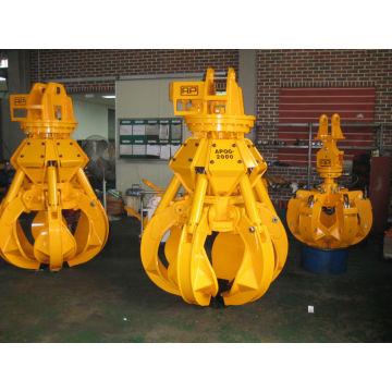 garra de excavadora, material para excavadora Hyundai