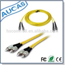 Câble de raccordement optique à fibres optiques en usine semblable au câble de réseau systimax