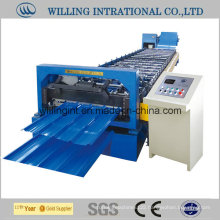 Cheap Color Coated Steel Wall Roll Forming Machinery Making