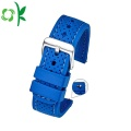2018 New Fashion Silicone Watchstrap Band med Spänne