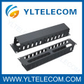 19 Inch Cable Manager with Metal Cover 2U