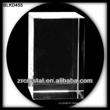 Blank Crystal Cube for 3d laser engraving BLKD455