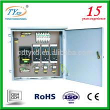 caja de placa de panel de distribución de energía eléctrica mcb montada al ras