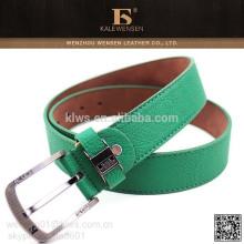 Cinturones coloridos de cuero de la PU correa