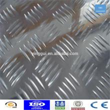 Prix de la plaque de damier en aluminium 3003