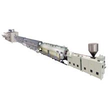 Línea de producción de tubería de PVC de plástico