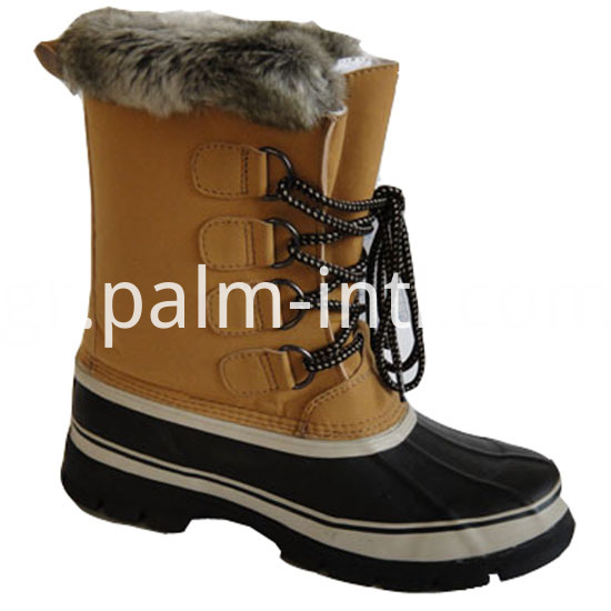 Anti-Skidding Rubber Outsole Snow Boots