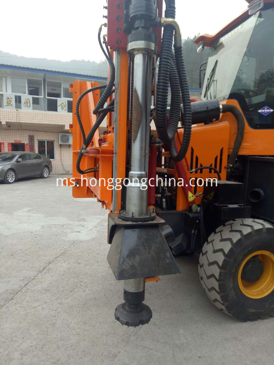 County Road Construction Driling Machine