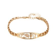75446 xuping oro encanto moda joyas pulseras mujeres pulsera