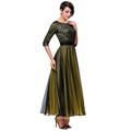 Kate Kasin 3/4 Sleeve Crew Neck Ball Gown Evening Prom Party Dress KK000214-1