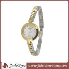 Reloj de acero inoxidable de alta calidad. Reloj de señora de la moda