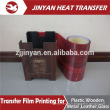 heat transfer wood grain transfer film