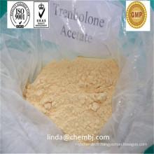 Acétate de trenbolone en poudre de stéroïde brut de qualité pharmaceutique avec dégagement élevé