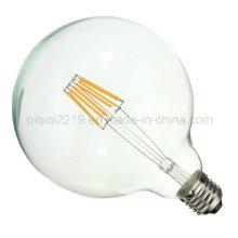 Luz clara clara do filamento do diodo emissor de luz da luz da loja do globo da escala 5.5W G125